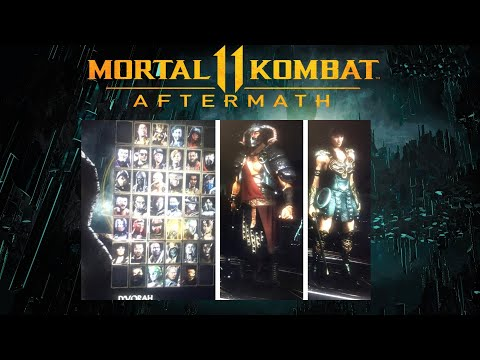 Mortal Kombat 11 - Smoke, Havik, Takeda & Xena Leaked In-Game!