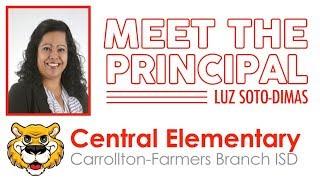 Meet Central Elementary's New Principal | Luz Soto-Dimas