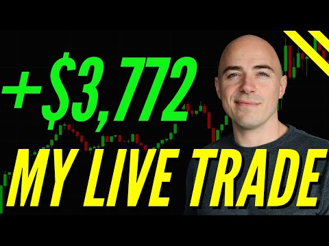 How To Enter A Trade Start To Finish **$3,772 On US30**