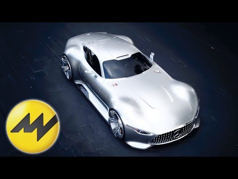 mercedes amg vision gt - video - youtube
