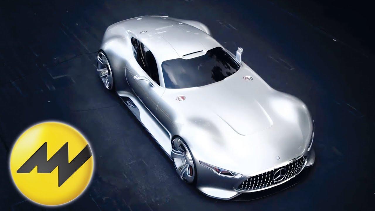 Mercedes AMG Vision GT   Video
