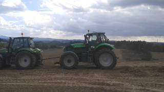 DF TTV 620SE + DF X720 vs. New Holland TG 255