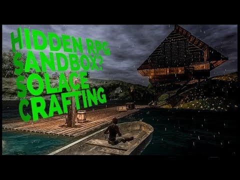 SOLACE CRAFTING⛏️ Hidden Sandbox RPG On Steam First Experience  + Bannerlord/Alchemy Garden