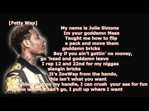 Gucci Mane ft Fetty Wap & Lil Reese - Still Sellin Dope LYRICS NEW 2015
