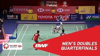 QF | MD | GIDEON/SUKAMULJO (INA) [1] vs. ENDO/WATANABE (JPN) [5] | BWF 2019