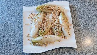 Закуска Из Салата Цикорий. Chicorée-Salats.Chicory salad.