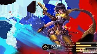 [Gcaothu] Bí Quyết chơi xạ thủ Violet gánh team - Giao lưu Tùng Xêko - Cao thủ hàng đầu Liên Quân