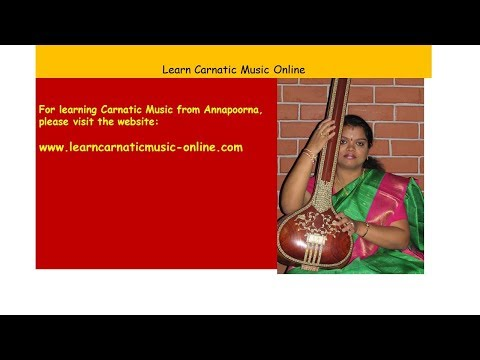 Carnatic music learn online free