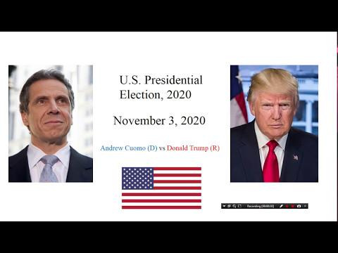 Election Night 2020: President Trump vs Andrew Cuomo