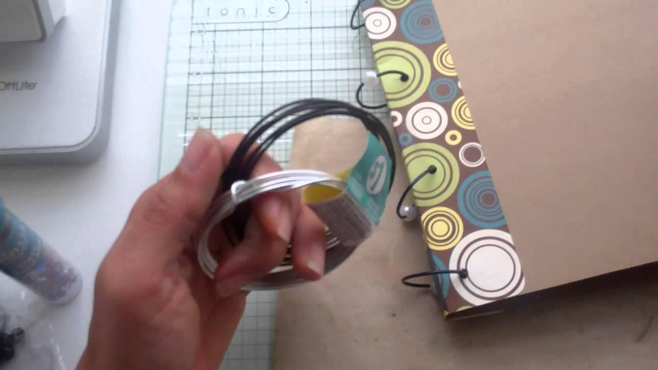 Binding rings for my Cricut Mini books