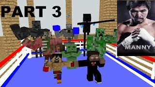 Monster School : GRANNY, GRANDPA & FNAF (Recovery&Training) Part 3 - Minecraft Animation (Pacquiao)