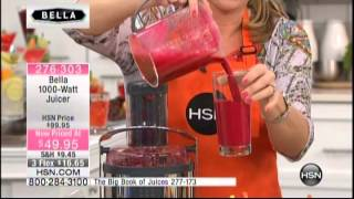 Kelly Diedring Harris presents the Bella Juicer on Home Shopping Network; 2.3.14