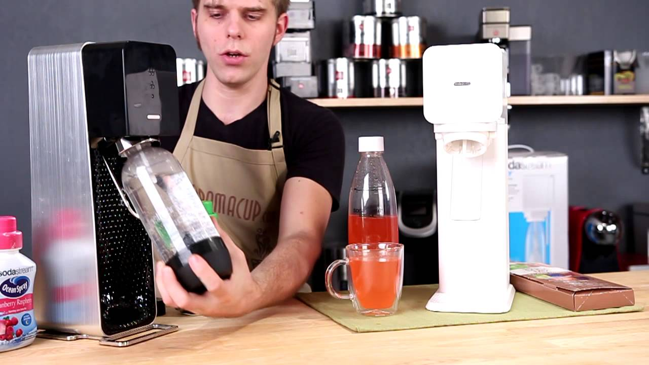 Sodastream Play Vs Source Home Soda Maker Review And Comparison