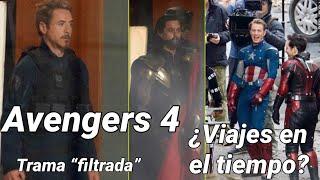 Se FILTRA La Trama De AVENGERS 4? Tony Y Steve Viajan Al Pasado Con Ant-man!