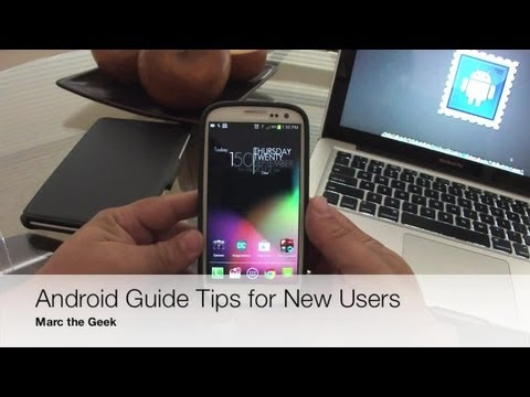 Android Guide & Tips for New Users (For Beginners Only)