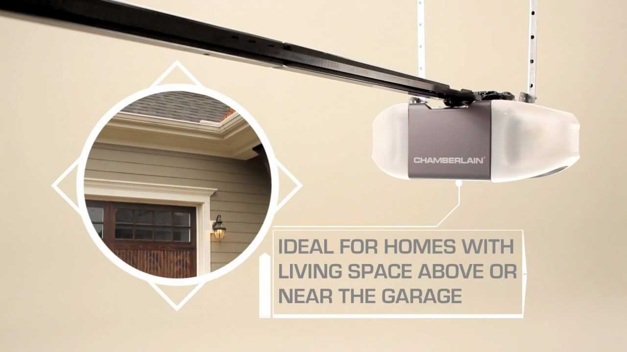 New Chamberlain Myq Garage Door Opener With Battery Backup