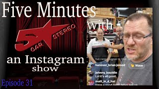 Wrangler, Ram, BMW and Rockford 5 minutes with 5 Star recap show