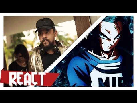 VG Beats ft VMZ - Rap do Android 17 | Dragonball Super | React