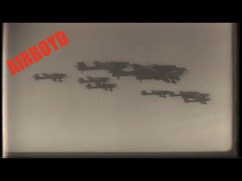 German Aerial Combat Footage
