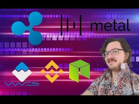 Coin News - Metal, Waves, Binance, Ripple, Neo