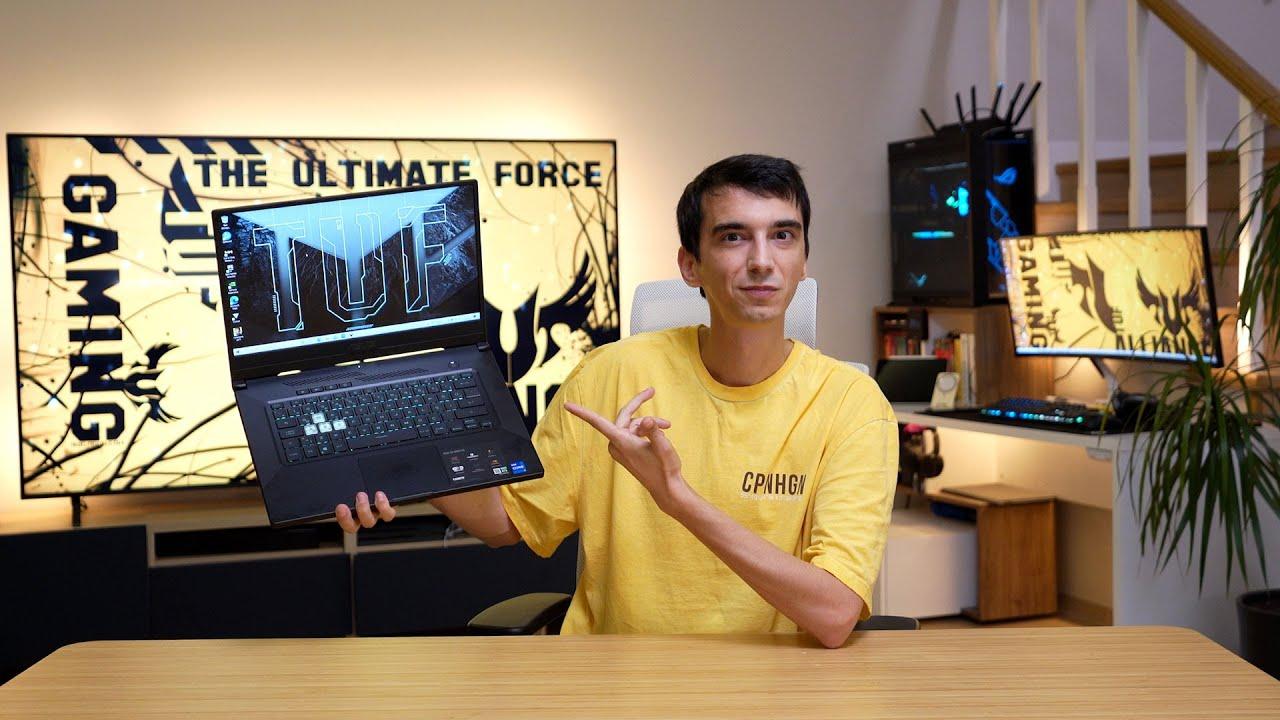 Fiyat Segmentinde Şov Yapan Oyuncu Laptopu! (Asus Tuf Dash F15)