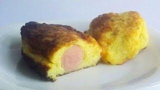 Картофельные Колбаски с Сосиской кулинарный видео рецепт(Сосиски, завернутые в картофельную массу и обжаренные на чесночном растительном масле -- такое вы уже пробо..., 2014-06-27T03:00:01.000Z)