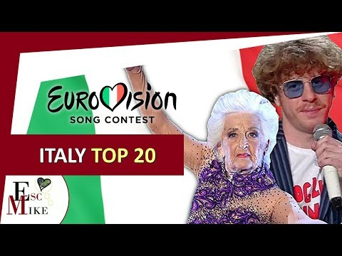 Eurovision Italy 2018 [SANREMO] - My Top 20 [With RATING]