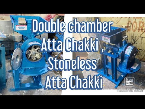 Double chamber Atta chakki whatsapp 8982325000 from YouTube · Duration:  3 minutes 21 seconds