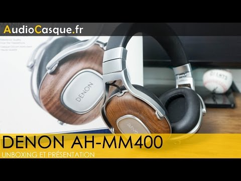 Denon AH-MM400 - Unboxing et Test [FR]