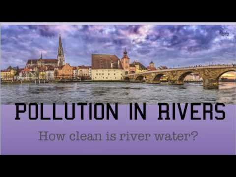 Pollution In Rivers