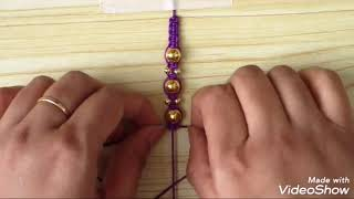 Easy and simple bracelet for  friendship day| friendship band for friends