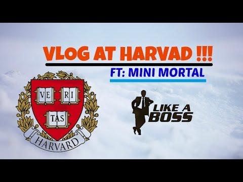 Vlogging at Harvard College