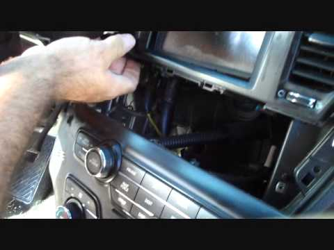 How to Kia Optima Car Stereo Removal 2011  2014 replace