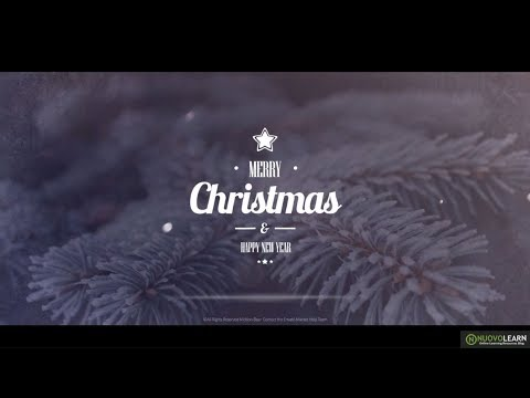 Top 10 After Effects Templates For Christmas 2017 | Best Christmas Video Templates