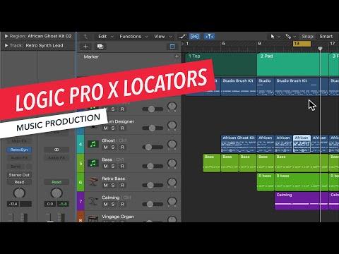 How to Use Locators in Logic Pro X | Logic Pro X Basics