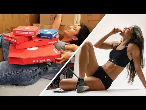 GIRL VS FOOD VS SOCIAL MEDIA