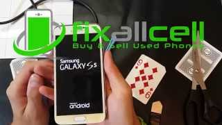 galaxy s5 screen replacement remove lcd without b