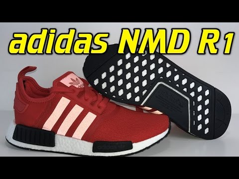 82303f478 Adidas NMD R1 (Clear Red) - Review + On Feet - Видео с YouTube на ...