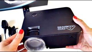 "2017 Mini   HD   Multimedia Projector   upto 176"" Screen   Home Cinema   Games   Under £69 WOW"