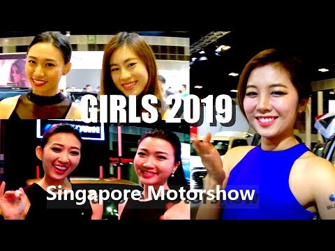 Girls of the Singapore Motorshow & Cars 2019