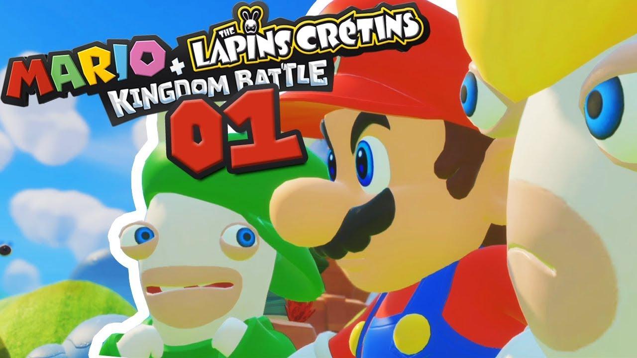 Mario Rencontre Les Lapins Crétins Mario Lapins Crétins 01