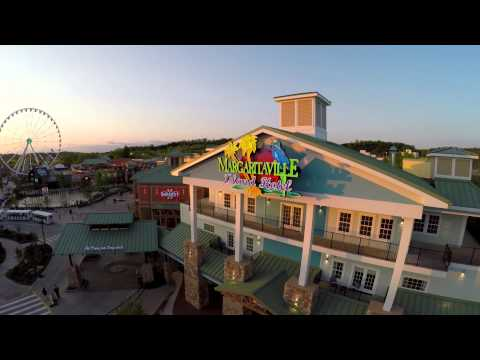 Margaritaville Island Hotel in Pigeon Forge, TN in the Great Smoky Mountains