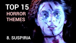 08. Suspiria (Top 15 Horror Themes)