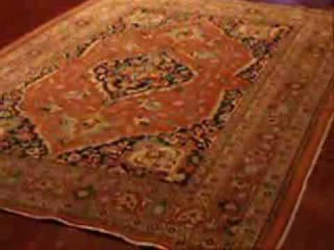 Antique Area Rug Hadji Jalili Tabriz