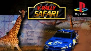 V-RALLY '97 PS1 - Best Rally Game Ever