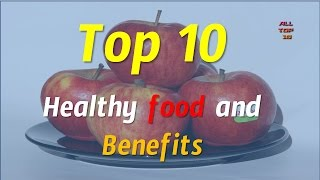 Top 10 Healthiest Foods | Best Food to eat | Healthy Food List 2015