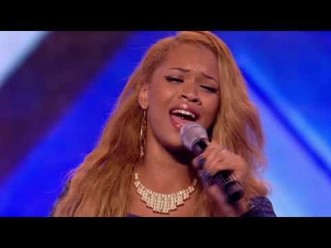Tamera Foster's Audition cut - The X Factor UK 2013 FULL HD