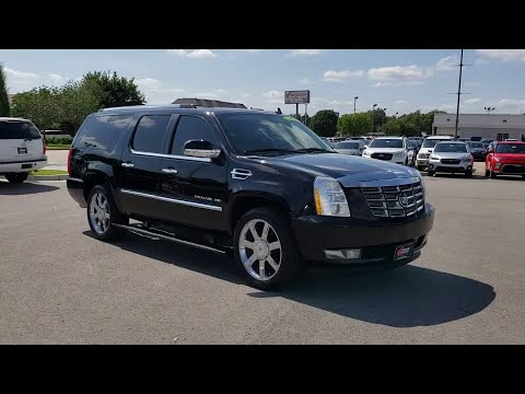 2011 Cadillac Escalade ESV Tulsa, Broken Arrow, Owasso, Bixby, Green Country, OK G90884A