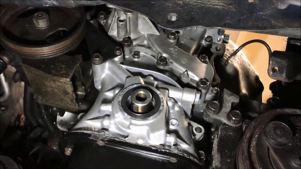 Nissan B15 sentra (2000 - 2006) timing cover oil pan ...