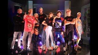 Участники Топ-модель по-украински выступили вместе с группой АГОНЬ. LIVE